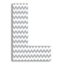 Oversized Chevron Letter Hanging Initial