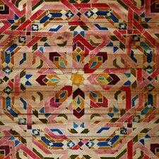 """Kasbah"" Art Print on Natural Pine Wood"