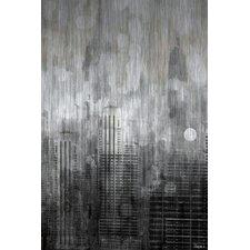 Empire Graphic Art on Brushed Aluminum