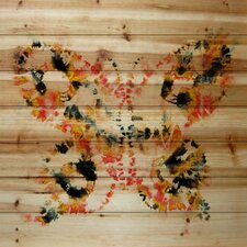 Painted Butterfly Painting Print