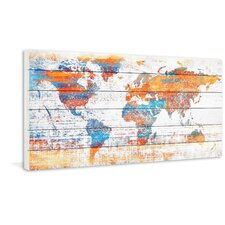 Warm World Painting Print Plaque
