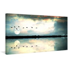 Attleborough Photographic Print on Wrapped Canvas