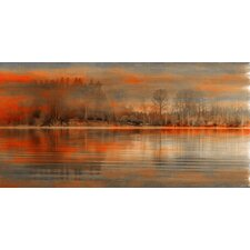Serenity Painting Print on Wrapped Canvas