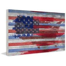 United States Graphic Art Plaque