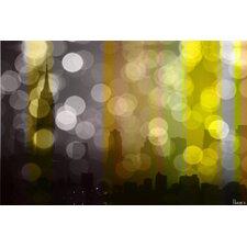 Manhattan Graphic Art on Premium Wrapped Canvas