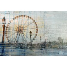 Carosello - Art Print on Premium Wrapped Canvas