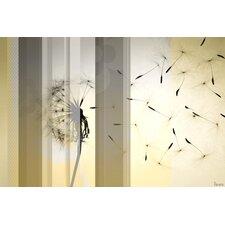 Dandelion by Parvez Taj Graphic Art on Wrapped Canvas