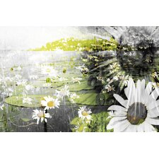 Lillies Graphic Art on Premium Wrapped Canvas