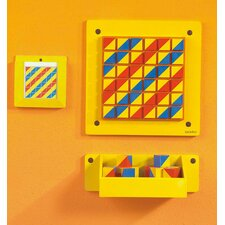 Beleduc Patterns Graphic Wall Mounted Bulletin Board, 1' x 1'