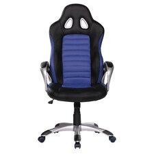 Bürostuhl Racer mit hoher Rückenlehne