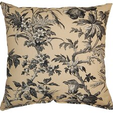 Clara Woodrose Cotton Throw Pillow