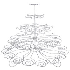 Chrome Works 5 Tier Cup Cake Stand