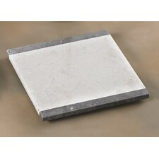 The Byzantine Two Tone Marble Board in Charcoal / Champagne