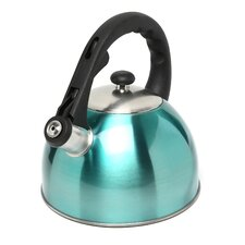 Satin Splendor 2.8 Qt. Whistle Tea Kettle