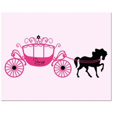 Princess Carriage Art Print