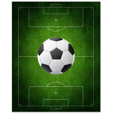 Soccer Field Print