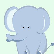 Elephant Paper Print