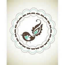 Birdie Paper Print