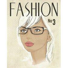 Fashion Mag Paper Print