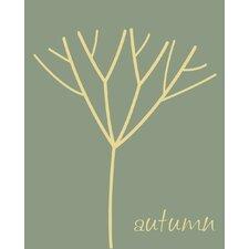 Autumn Tree Canvas Art