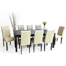 Eveleen 9 Piece Dining Set