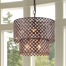 Bernadette 8 Light Drum Chandelier