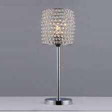 "Cleopatra 20"" H Table Lamp with Drum Shade"