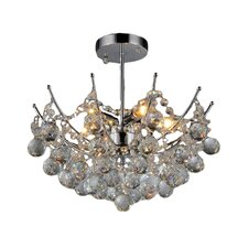 Shine 5 Light Crystal Chandelier