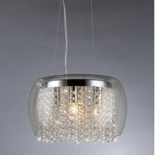 Nereids 4 Light Crystal Chandelier