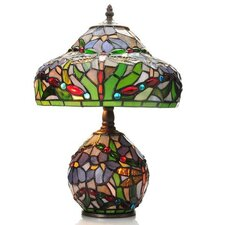 """Dragonfly Double Lit 15.5"""" Table Lamp"""