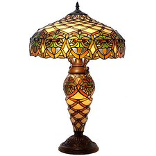 "Tiffany Style 25"" Table Lamp"