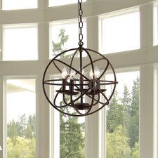 Theo 5 Light Mini Chandelier