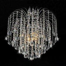 Candace 3 Light Crystal Flush Mount