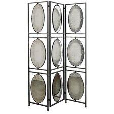"75"" x 47.52"" 3 Panel Room Divider"