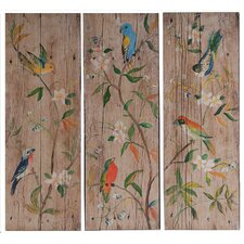 Wooden Wall Decor (Set of 3)