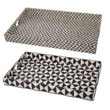 Rectangle Tray (Set of 2)