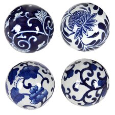 Decorative Ceramic Ball (Set of 4)