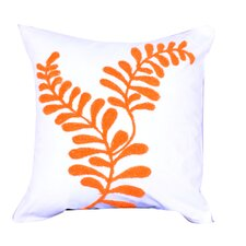 Embroidered Cotton Throw Pillow (Set of 2)