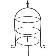 Tiered Plate Rack