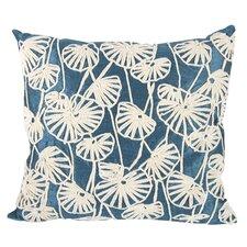 Dupioni Embroidered Lumbar Pillow