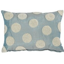 Faux Pearl Embellished Lumbar Pillow (Set of 2)