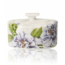 Quinsai Garden 11 oz. Sugar Bowl with Lid