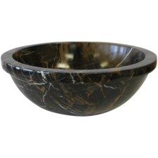 Round Marble Vessel Sink