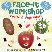 Face-It Workshop Fruits and Vegetables Art Kits