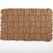 Woven Checks Doormat
