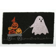 Halloween Pumpkin Parade Doormat