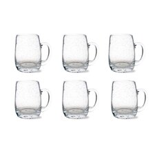 Tag Bubble Beer Mug (Set of 6)