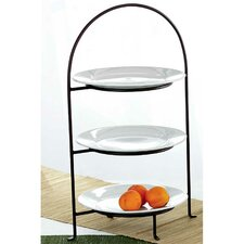 Classic 3-Tiered Plate Stand