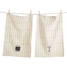 2 Piece Dishtowel Set