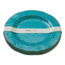 """Veranda 10.75"""" Melamine Dinner Plate (Set of 4)"""